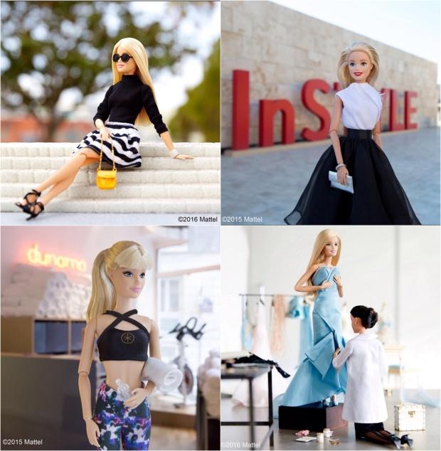 barbie 2-tile